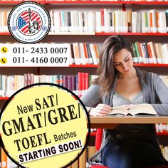 Are you looking For Best GMAT Preparation Classes? Or looking best GMAT questions? Or Are you Searching Practice Tests and Questions for GMAT? Then why are you confused about Studying Overseas; it is a popular GMAT Coaching Institute in New Delhi India where you can get complete solutions for your all the GMAT problems.  A-260 (3rd Floor) Defence Colony, New Delhi - 110 024, India Phones - 91-11-2433 0007 Fax - 91-11-2433 6729