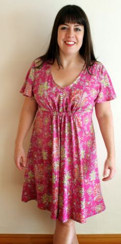 """I can't remember where I first caught a glimpse of the Snapdragon Studios ' Summer Jazz Dress , but I do remember thinking """"It shall be min. Studio S, Kurti, Jazz, Tunic Tops, Summer Dresses, Sewing, Casual, How To Make, Shopping"""