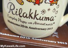 Rilakkuma Anniversary Mug from MyKawaiiLife.com