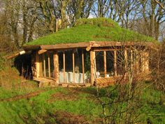 Yurt with living roof!!