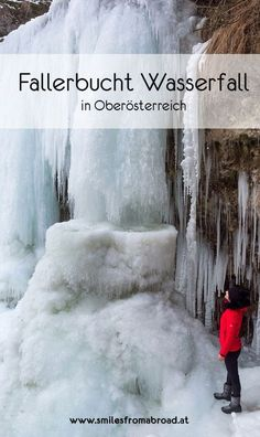 Der Fallerbucht Wasserfall in Oberösterreich im Winter – eine bizarre Eiswelt #fallerbucht #wasserfall #gefroren #oberösterreich #österreich Heart Of Europe, Reisen In Europa, Innsbruck, Vacation Trips, Travel Destinations, Travel Europe, Austria, Places To Go, Wanderlust