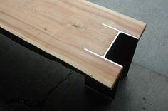 Wood & I-beam