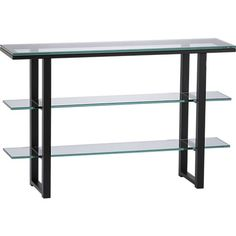 Mix Console Table in Side, Coffee Tables   Crate and Barrel