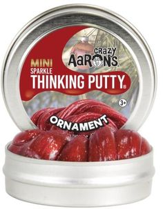 Aaron's Thinking Putty World Holiday Mini Sparkle - Ornament Crazy Aaron's Putty, Silly Putty, Aaron's Thinking Putty, Putty And Slime, Slime Toy, Slime Shops, Novelty Toys, Tin Gifts, Holiday Gift Guide