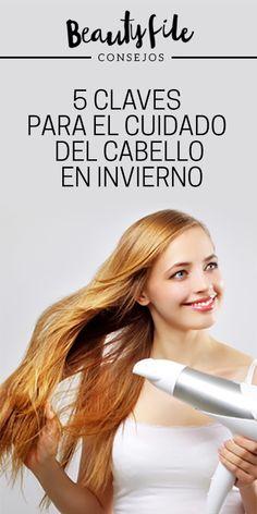 Conoce los tratamientos y tips para el cuidado de tu cabello en invierno Hair, Beauty, Split Ends, Trending Hairstyles, Hair Care, Tips, Winter, Beleza, Cosmetology