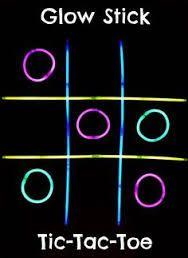 Resultado de imagem para ideias glow games