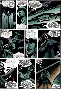 V for Vendetta by Alan Moore and David Lloyd