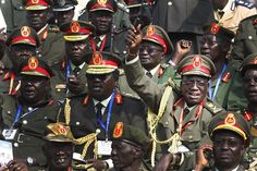 14. South Sudan – Power Index: 2.7689 Founded as a guerrilla movement in 1983, the Sudan People's Liberation Army (SPLA) played a large and violent role in the disastrous Second Sudanese Civil War. Its commander-in-chief is Salva Kiir Mayardit, and it has a land force with 110 tanks, 250 armored fighting vehicles, 210,000 active front line personnel, and a tiny air force with nine aircraft - See more at: http://afkinsider.com/30022/powerful-militaries-africa/4/#sthash.f3el3Ziw.dpuf