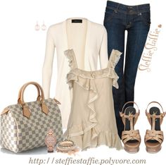 """Sweet & Dainty"" by steffiestaffie on Polyvore"