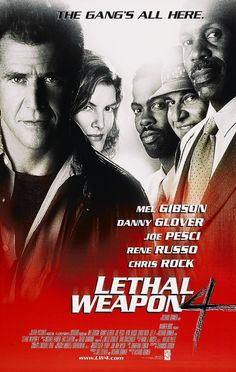 Lethal Weapon 4 (1998) - IMDb Streaming Hd, Streaming Movies, Hd Movies, Movies To Watch, Movies Online, Movies And Tv Shows, Movie Tv, Films, Rene Russo