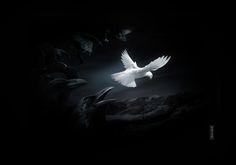 Поэтический блог Екатерины Комаровой: Белой голубкой