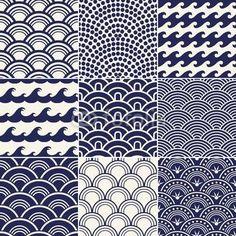 """Papier peint """"déferlement, oriental, naval - motif de vagues de l'océan transparente"""" ✓ Un large choix de matériaux ✓ Impression écologique 100% ✓ Regardez des opinions de nos clients !"""