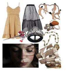 """Queen Reina of Anzel, house Fairgrove né Vesta"" by gossamergloss on Polyvore featuring art"