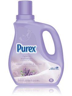 #mypurexfavorite best fabric softner on the maket its all we use...Classic Purex Regular Fabric Softener - Sweet Lavender & Cotton