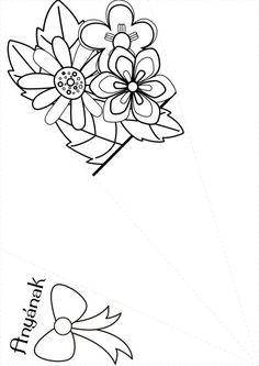 [공유] [어린이 종이 접기] 종이로 어버이의 날 꽃다발 접기 : 네이버 블로그 All Valentine Day, Valentine Day Crafts, Mother's Day Colors, Diy And Crafts, Crafts For Kids, Flower Pot Crafts, Paper Bouquet, Valentine's Day Printables, Classroom Crafts