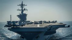 North Korea vows nuclear response to aggression as US, Japan warships approach. Two Japanese navy ships joined an originally American strike group en route to Korean waters, Japanese sources said on Sunday.  The two Japanese warships left western Japan on Friday to join the Carl Vinson strike force in what is intended to be a show of force against North Korea, whose ballistic missile and military nuclear programs have caused concern in Washington.