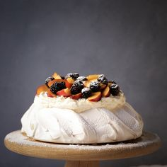Pavlova is one of my favourite desserts. The perfect pavlova delights with a harmony of contrasting flavours and textures – the meringue should be crisp on the exterior and give way to a soft marshmallowy centre. The delicious sweetness of this pavlova is balanced by plump tart blackberries and slivers of nectarines. Pavlovas are incredibly...Read More