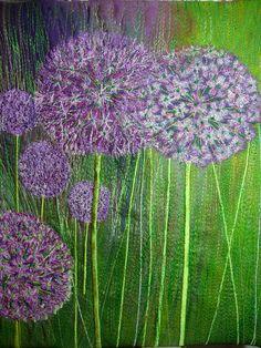 Nicky Perryman - Textile Art