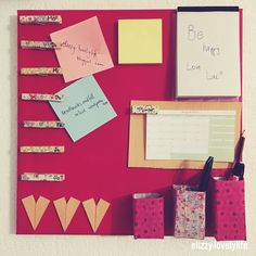 lovely.life ♥: Do it Yourself - 2 in 1 Wochenplaner & To-Do Liste