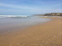 Beautiful Summerleaze Beach, Bude, North Cornwall, UK last Friday by Kirsty Luxton.