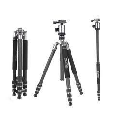 A good tripod is essential in photography. Amazon.com: Zomei Z888C Professional Portable Metallic Color Carbon Fiber Tripod & Ball Head Travel for Canon, Sony, Nikon, Panasonic, Olympus, Fuji, Cameras and Video Camera (Silver Grey) (affiliate)
