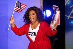"""Obama Wins—2008 On November 5, 2008, Oprah and her studio audience celebrated the election of Chicago's own Barack Obama as 44th president of the United States.  Throughout the two-year campaign season, Oprah vowed not to use her show as a platform. """"I kept my mouth shut and supported Barack Obama as a private citizen,"""" she said. """"Today, though, the election is over—and I'm unleashed!"""