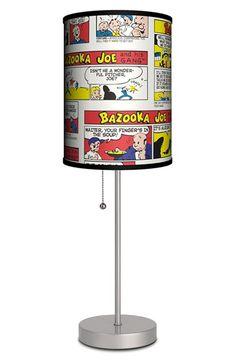LAMP-IN-A-BOX 'Bazooka Joe and His Gang Comic' Table Lamp available at #Nordstrom