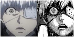 tokyo ghoul | Anime vs manga
