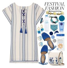 """""""Good Vibes Only: Festival Fashion"""" by martinabb ❤ liked on Polyvore featuring Lemlem, Franco Sarto, French Connection, Aéropostale, BaubleBar, Palm Beach Jewelry, Burberry, Illamasqua, Anya Hindmarch and By Terry"""