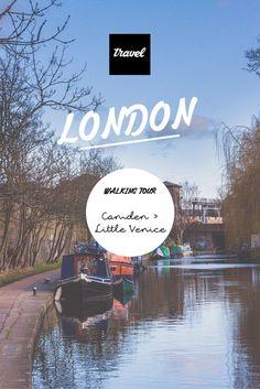 Balade entre Camden et Little Venice au bord du Regent's Canal. London walk - tips.