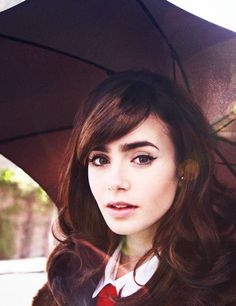 Day 11: In a movie about my life, I would cast her to play me; Lily Collins is so beautiful!