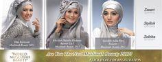 3 TOP MISS MUSLIMAH 2001 INDONESIA