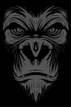 Graphic-Gorilla! | Art & Design | Pinterest