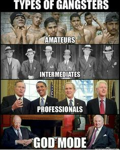 Types of gangsters. - Real Funny has the best funny pictures and videos in the Universe! Illuminati, Truth Hurts, It Hurts, Trance Music, New World Order, History Facts, Thought Provoking, Awakening, Life Lessons