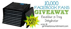 GIVEAWAY: Excalibur 9-Tray Dehydrator ($220 Value)! - Girl Meets Nourishment Kitchen Stuff, Kitchen Gadgets, Women's Health, Health And Wellness, Garden Farm, Real Food Recipes, Healthy Recipes, Eco Products, Big Meals