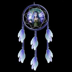 *mystic #aura* anne #stokes goth #fantasy fairy art dreamcatcher (15cm),  View more on the LINK: http://www.zeppy.io/product/gb/2/391272188921/