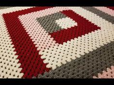 Ideas Crochet Afghan Patterns Chunky Granny Squares For 2019 Crochet Afghans, Motifs Afghans, Crochet Squares Afghan, Baby Blanket Crochet, Crochet Stitches, Crochet Shawl, Crochet Lace, Point Granny Au Crochet, Granny Square Crochet Pattern