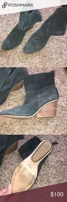 MATISSE BOOTIES Black suede Matisse booties  Size 8 1/2  3 in heal Matisse Shoes Ankle Boots & Booties