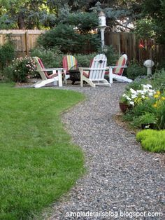 decking gravel and fruit trees images - Google Search