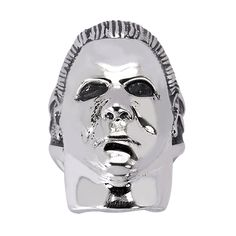 Halloween - Michael Myers Sterling Silver Ring