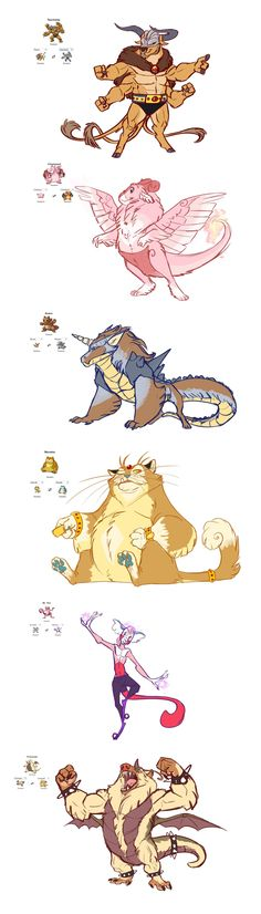 Pokemon Fusions Sketchdump by Earthsong9405 on DeviantArt
