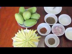 C/w Nana: Lao Dipping Sauce for Mango (ແຈ່ວໝາກມ່ວງ == Jeo Mak Muang) - YouTube
