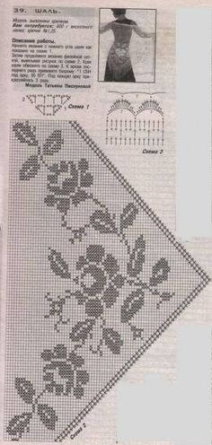Shawl Knitting Pattern - Crochet Patterns