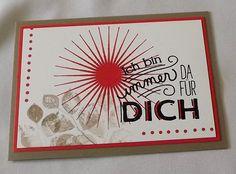 Grusskarte von Liebe Grüsse auf DaWanda.com