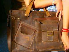 Complicated Laptop Leather Bag 15 Laptop Bag by 74streetbags