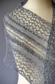 It's Free Pattern Friday! Today, the Starry Road Scarf in Universe. Breathtaking, isn't it? Universe (246yds/50g) is the yarn we created specifically for our tenth anniversary, and it's unlike anything else out there. A cotton/linen blend held with a metallic strand, wrapped in polyamide for greater strength, it's perfect for lacy shawls and scarves like…