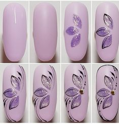 50 Trendy Nail Art Designs Step By Step You Will Love Art Tutorial Art Designs Love Nail nail Art tutorial Step Trendy Nail Art Hacks, Gel Nail Art, Nail Art Diy, Diy Nails, Acrylic Nails, Nail Nail, Nail Art Designs Videos, New Nail Designs, Nail Art Videos