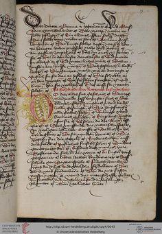 Cod. Pal. germ. 4 Rudolf von Ems: Willehalm von Orlens ; Dietrich von der Glesse: Der Gürtel (Borte) ; Peter Suchenwirt: Liebe und Schönheit u.a. — Schwaben/Grafschaft Oettingen (?), 1455-1479 15r