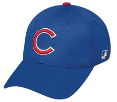 e8769dd6 Chicago Cubs Fitted Cap (Large/XL (7 3/8 - 6 3/4) MLB Officially Licensed  Major League Proflex Mesh/Jersey Replica Baseball Hat by Team MLB -  Authentic ...