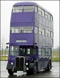 Harry Potter 3'Purple Triple Decker Bus
